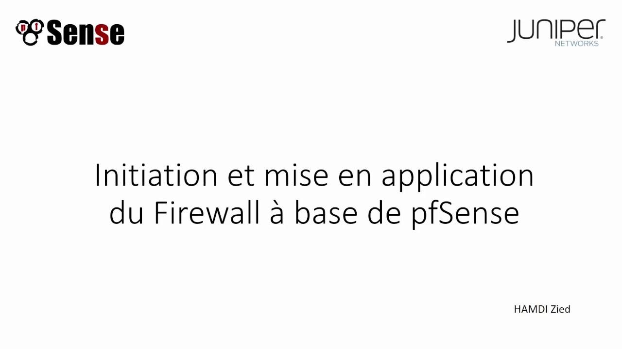 Firewall: Pfsense Firewall