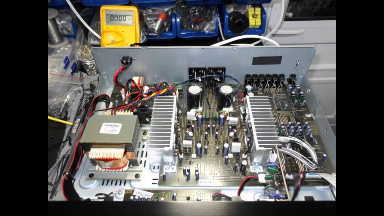 Pioneer A10 Amplifier Repair Youtube