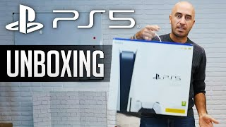 PS5: Unboxing di PlayStation 5 e DualSense