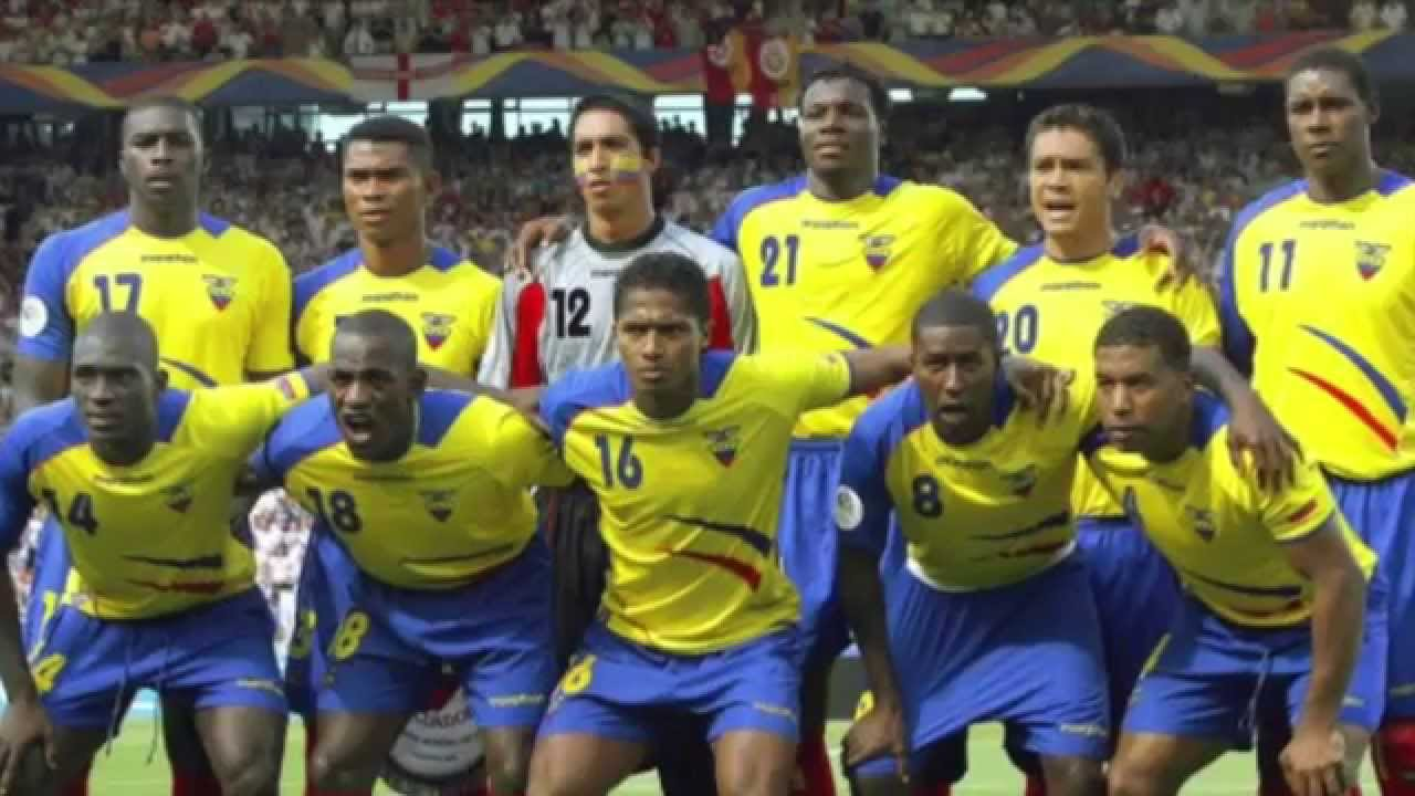 Soccer Players: Ecuador National Football Team
