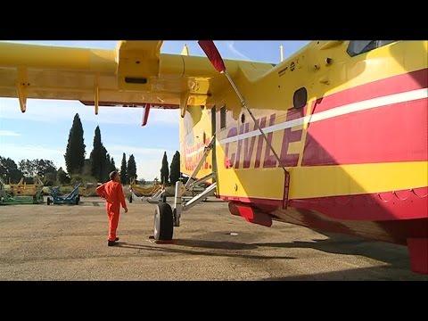 Carnet de vol spécial installation sécurité civile Nîmes-Garons