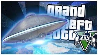 GTA 5 PC Mod Showcase - UFO ALIEN MOD!