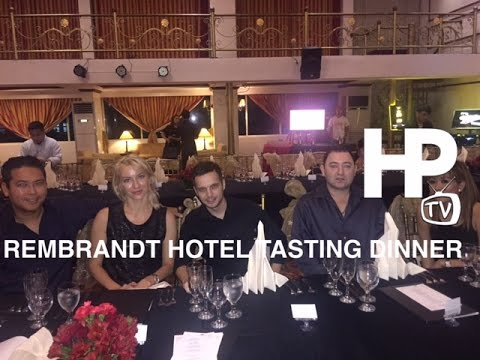 Hotel Rembrandt Tasting Dinner Tomas Morato Quezon City by HourPhilippines.com