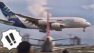 A380 LANDING IN NAIA MANILA