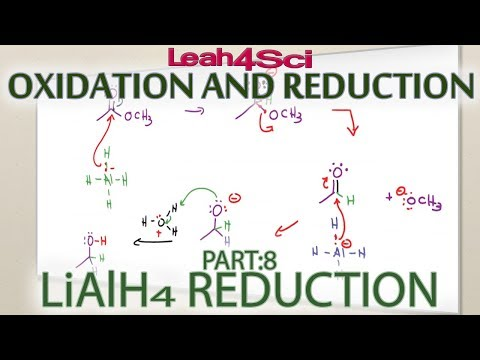 Lithium Aluminum Hydride LiAlH4 Reduction Reaction + Mechanism