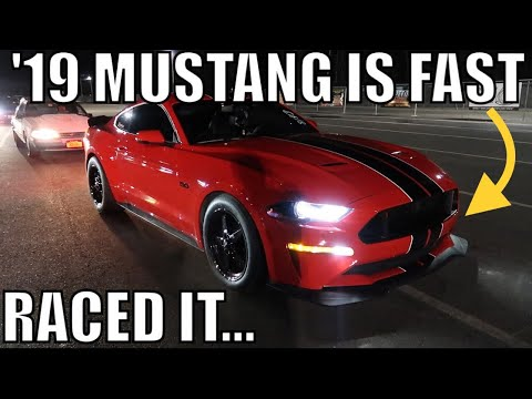 2019 vs 2018 MUSTANG GT DRAG RACE SHOWDOWN!