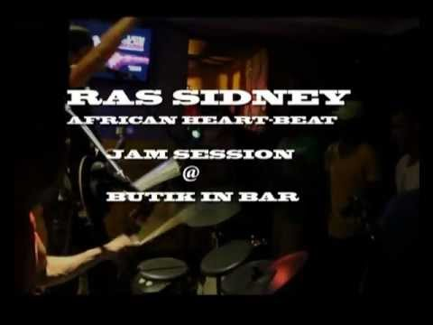 RAS SIDNEY (African Heart-Beat) Jam Session Live @ Butik In (Parte 1)