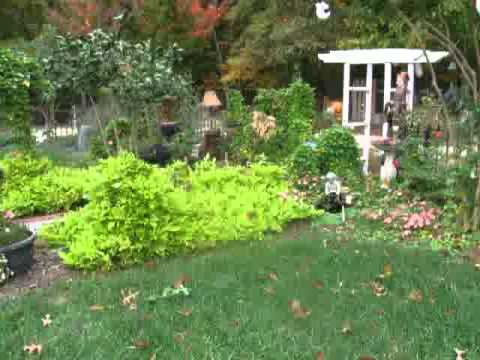 Simple Landscaping Ideas - flower garden designs - YouTube