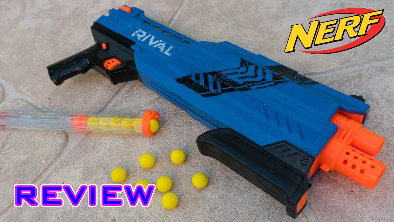 [REVIEW] Nerf Rival Atlas XVI 1200 Unboxing Review & Firing Test