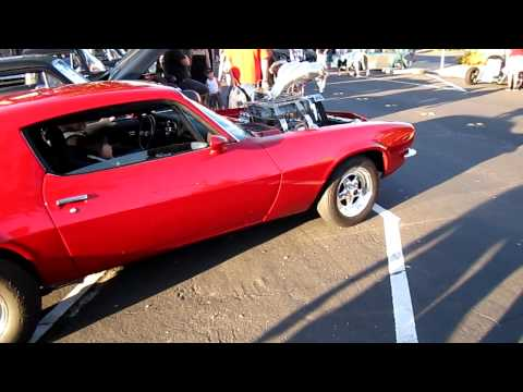 70 Camaro blown big block 1500+ HP Enderle Injection