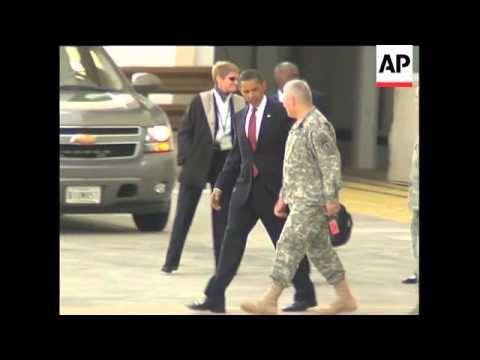 US President departs Germany; arrival in France