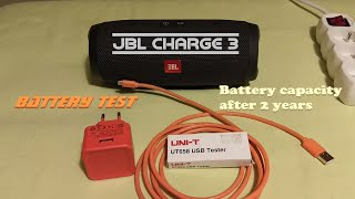 JBL Charge 3 - Battery test / 2 Years old Battery /