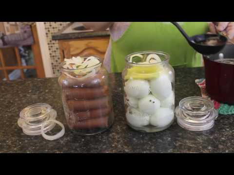 Traditional Newfoundland Pickled Eggs And Pickled Wieners - Bonita's Kitchen