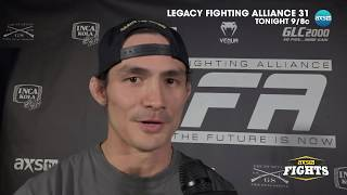 Phoenix Carnevale Talks Interim Featherweight Title With Bobby Moffet & Thanh Le thumbnail