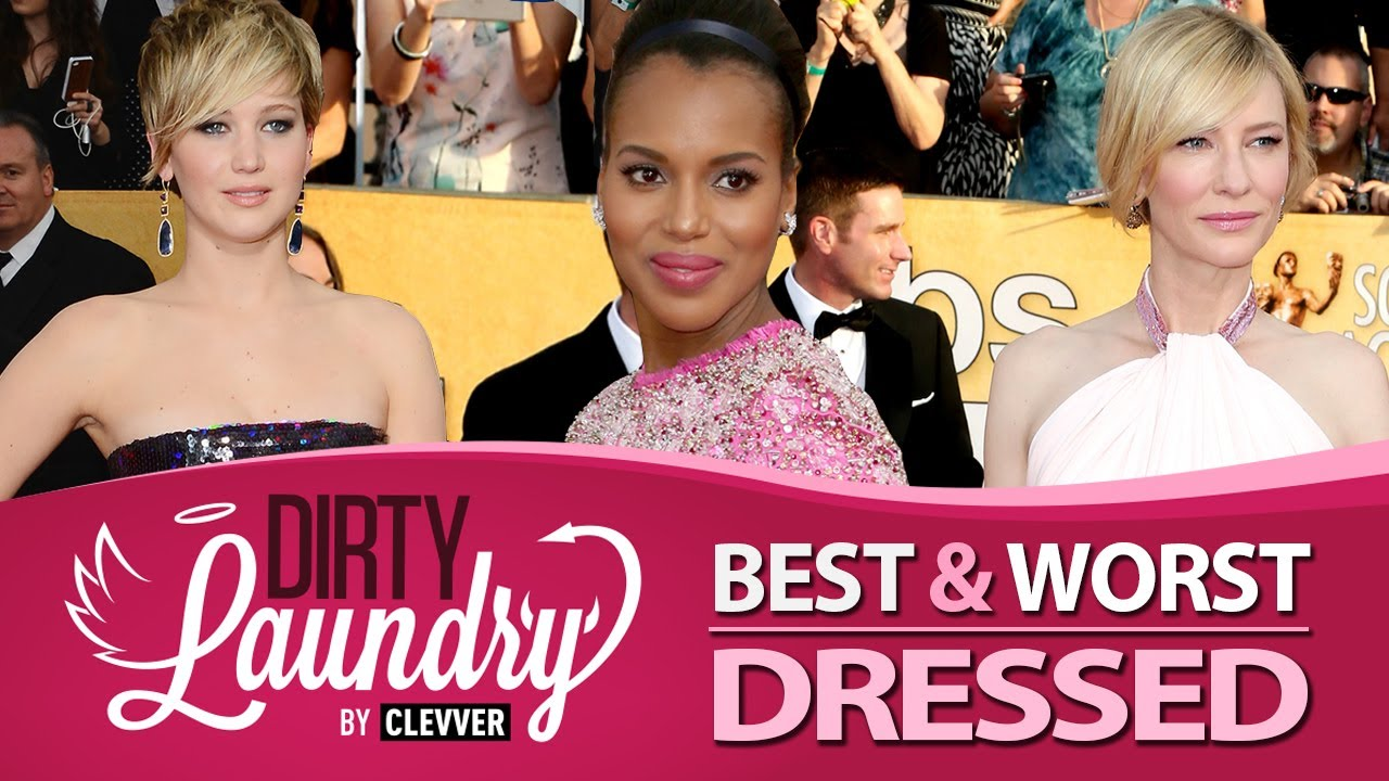 Best & Worst Dressed SAG Awards 2014 - Screen Actor's Guild Awards - Dirty Laundry
