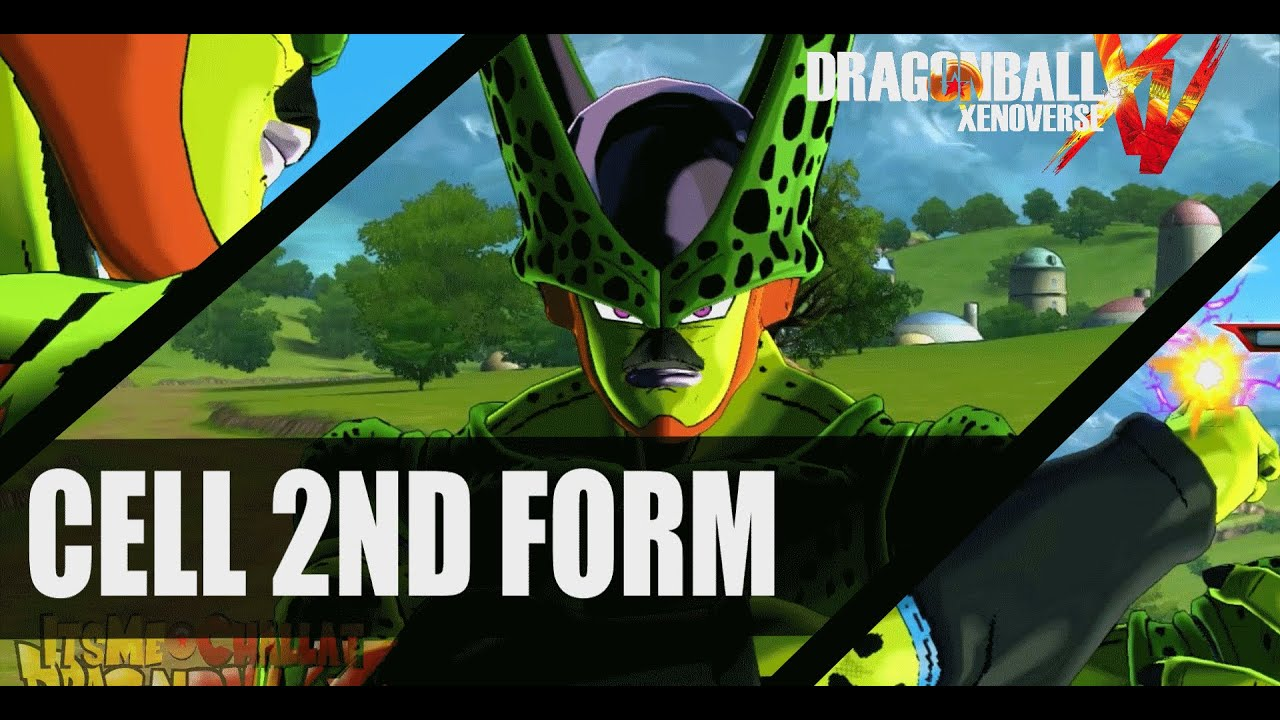Dragon Ball Xenoverse Mods: Imperfect Cell - YouTube