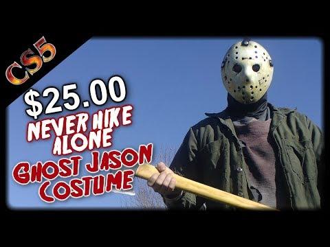 $25.00 Never Hike Alone Ghost Jason Costume Tutorial | CS5's Cost Cut Costume Tutorials, Fan Film