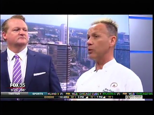 Fox 35 Cattle Barons Ball with Chef Alon