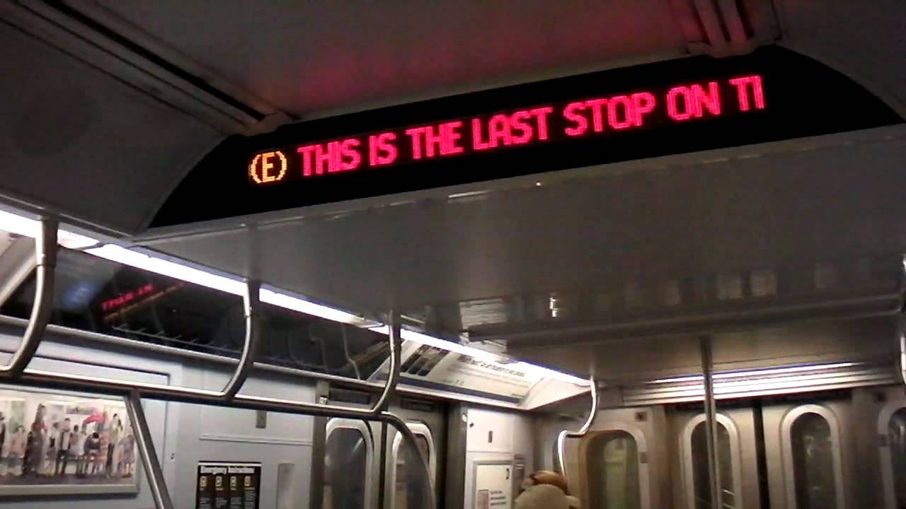 Nyct Subway Ex Ind R160a E To Union Turnpike Kew Gardens Youtube