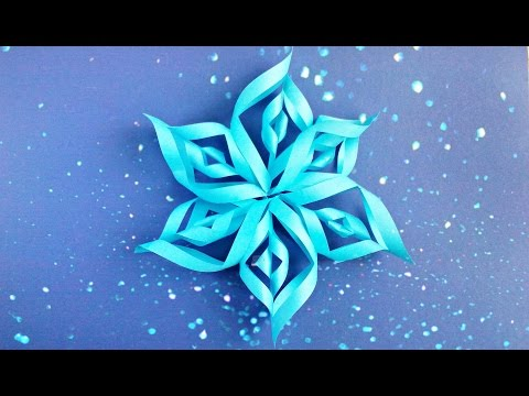 Modular 3d Origami Snowflake Tutorial Easy Instructions New Year Christmas Diy 3d Paper