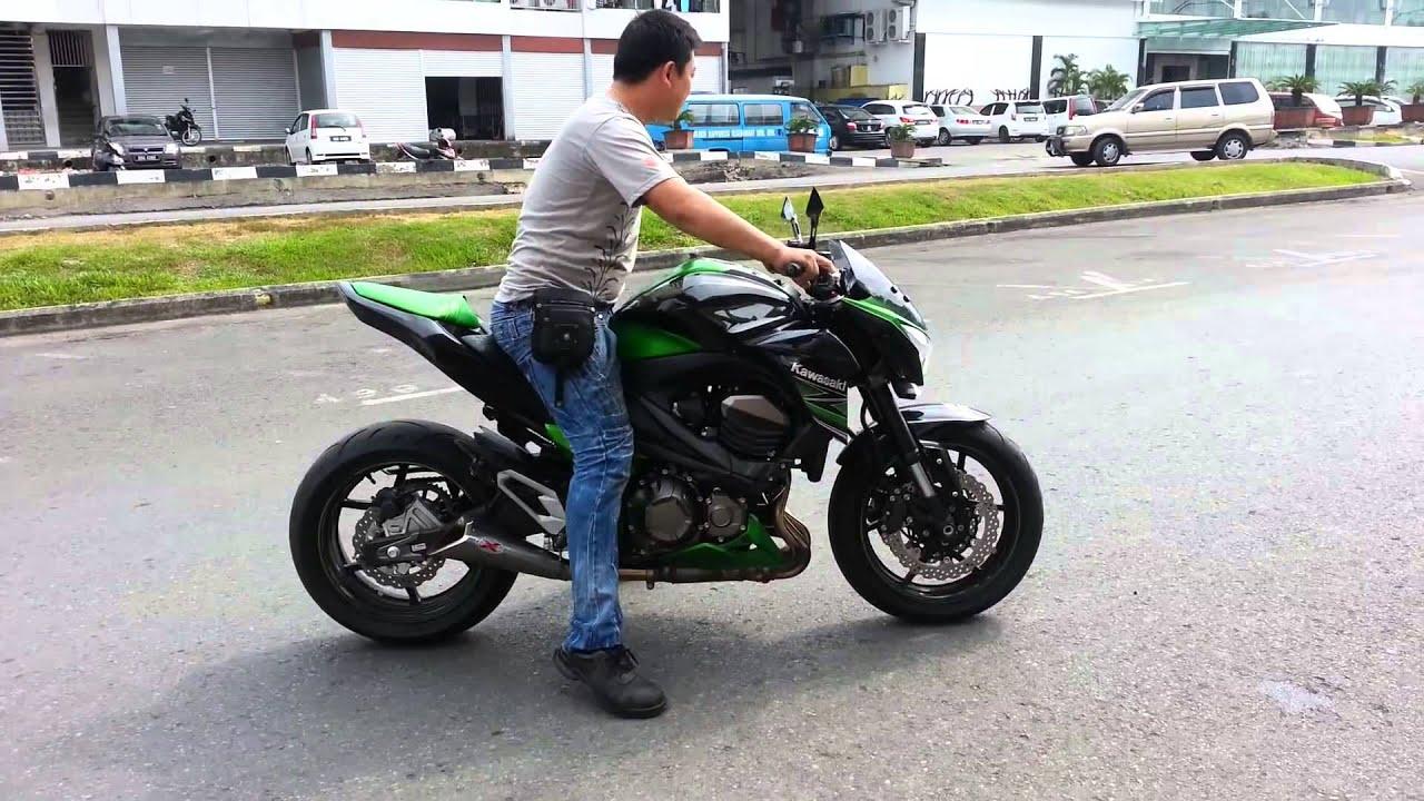 Test Thử Kawasaki Z800 trên đường phố - YouTube
