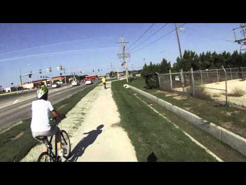 First Saturday Salina Kansas Bike Ride  09/01/12