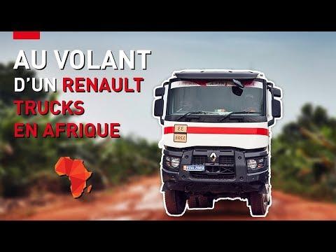 Au volant de Renault Trucks en Afrique