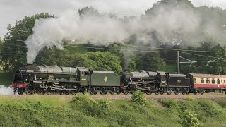 Steam On The Lickey Bank Returns ! LMS 46100 & 45231 Blast Up The 1/37 !!