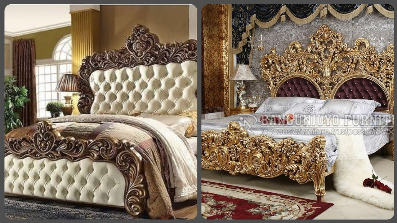 Modern And Luxury Royal Bed Designs For Your Dream Home Bedroom Furniture Ideas Youtube