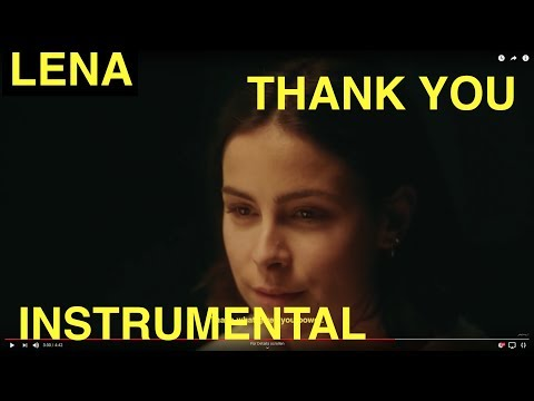 Lena Thank you Instrumental Cover