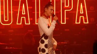 Dua Lipa - Hotter Than Hell live Gorilla, Manchester 07-10-16