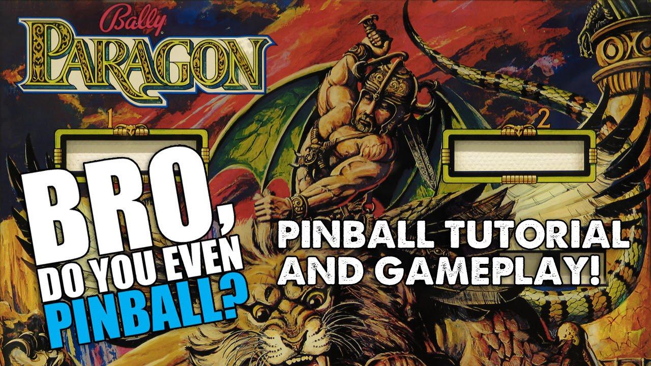 Paragon pinball (Bally fa9e70906e7