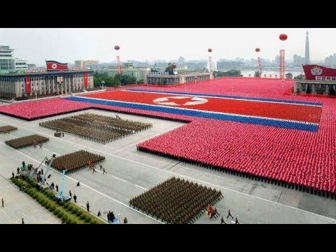 North Korea 2013 Military & Civilian Parade — Full Version