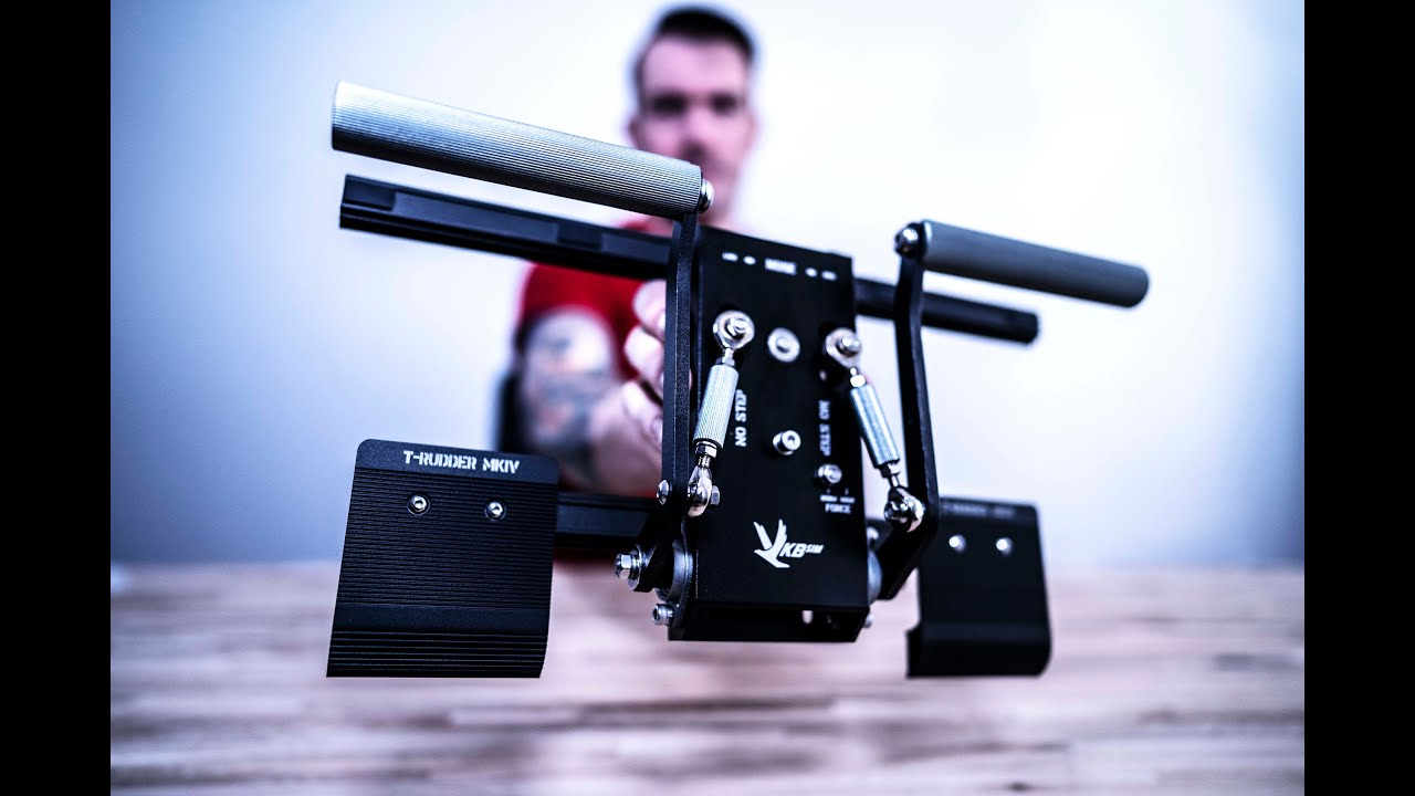 VKB Rudder Pedals First Impressions by Snake Eater Company