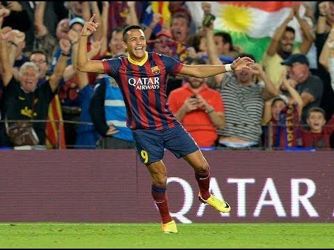 Los 3 goles de Alexis Sanchez al Real Madrid 2012-2013