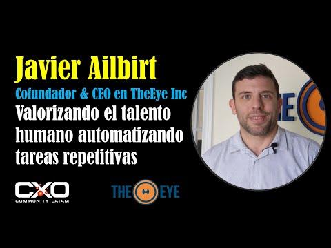 🎙️ Entrevista Javier Ailbirt (TheEye) 💪 Valorizando talento humano automatizando tareas repetitivas 🚀
