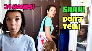 24 Hours in SMELLYBELLYTV's House! We BROKE into their house!
