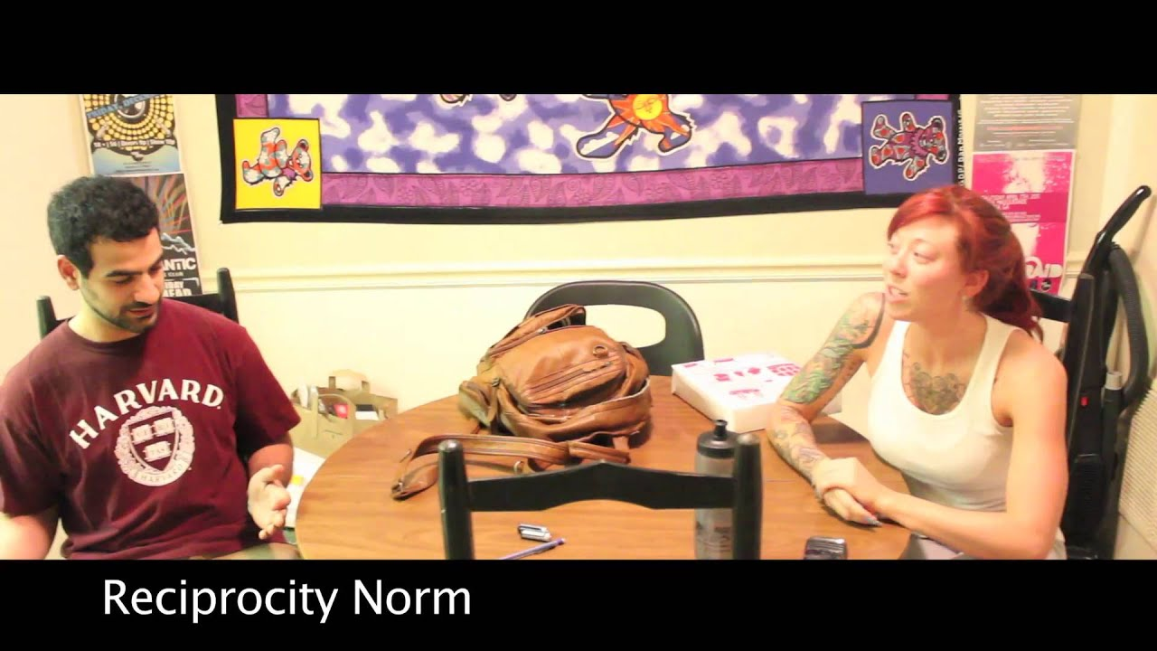 Reciprocity Norm