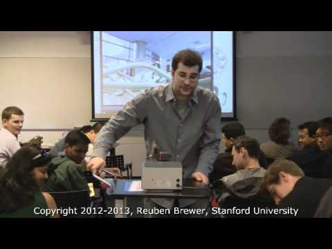 CS235: Applied Robot Design, Lecture 1-Course Overview and an Introduction to Ball Bearings