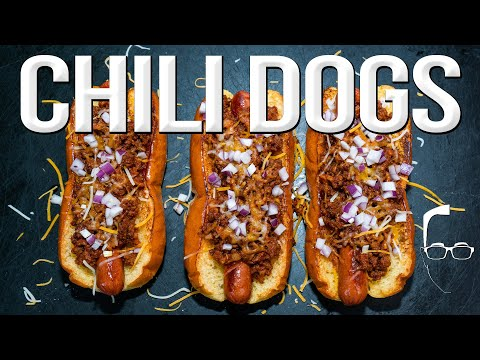 THE BEST CHILI DOG I'VE EVER MADE | SAM THE COOKING GUY 4K