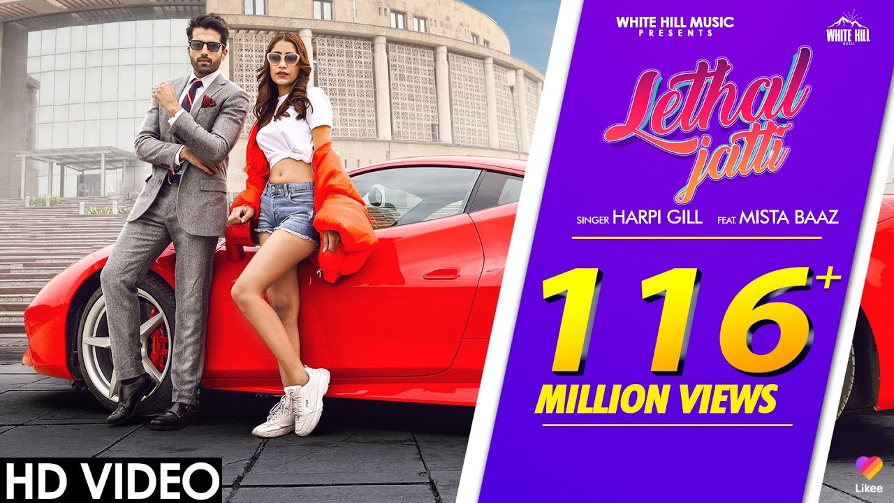 LETHAL JATTI (Official Video)   Harpi Gill ft. Mista Baaz   Ajay Sarkaria   New Punjabi Songs 2020
