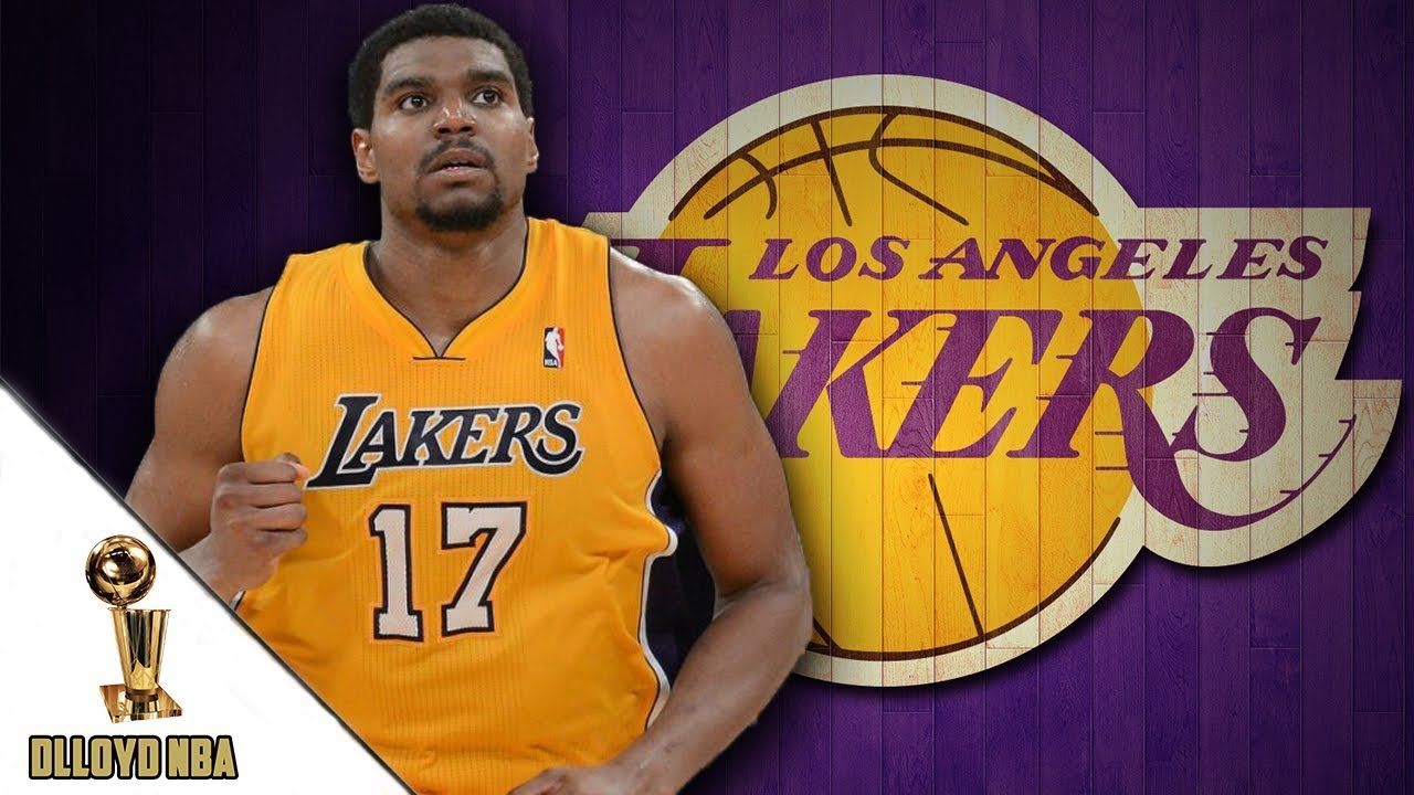 391bbbd9c08 Andrew Bynum Spotted Working Out At Los Angeles Lakers Facilities ...