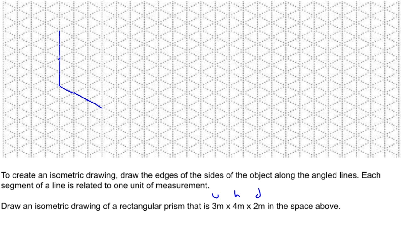U6L3 Isometric and Orthographic Drawings P1 Isometric