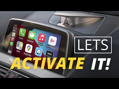 How to Activate Wireless Apple CarPlay in Your BMW F30, F10