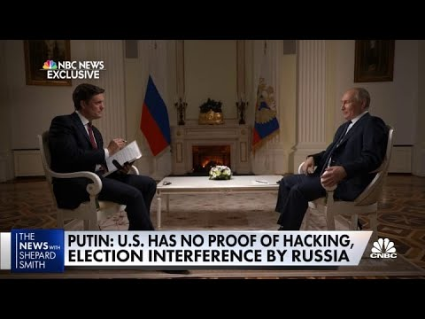 NBC's Keir Simmons on his exclusive interview with Russian President Vladimir Putin