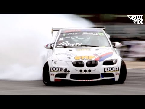 King of Europe Drift Series - Monster Energy - Round 2 France [1080p]