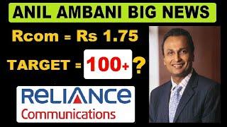 Rcom share market  ( ₹ 1.75  रुपये का शेअर , Target = ₹ 100+ ?? )  share market In Hindi by SMkC