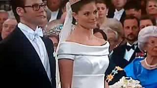 The royal wedding between Victoria and Daniel (Sweden)