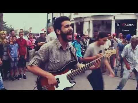 Abdelhafid Bouchara (music de la rue) Bd Med V Casablanca Août 2016