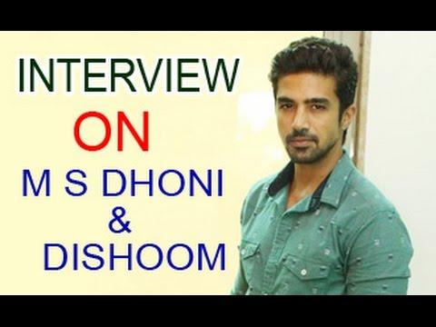 Saqib Saleem Talks About ''M.S Dhoni - The Untold Story'' & ''Dishoom'' | Interview | Huma Qureshi